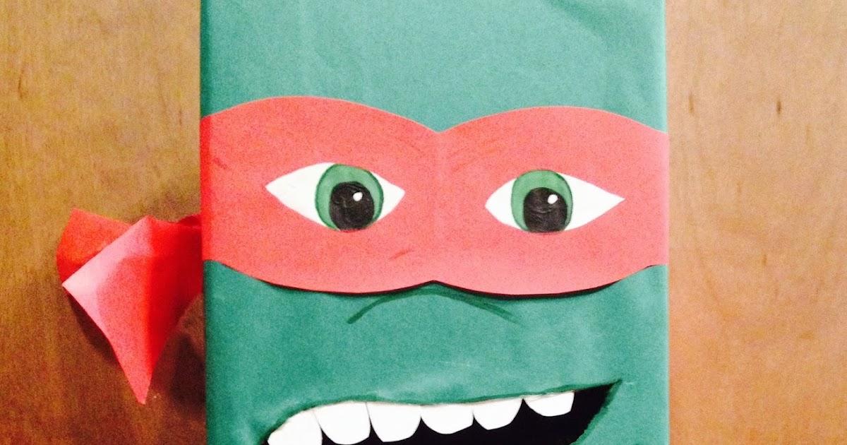 Life S Journey To Perfection Ninja Turtle Valentine S Day Box
