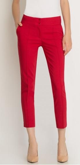 figura gruszka spodnie