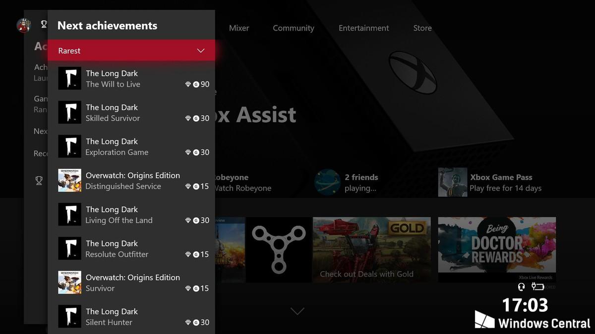 Xbox sorprendería con nuevo sistema de logros con cajas botín