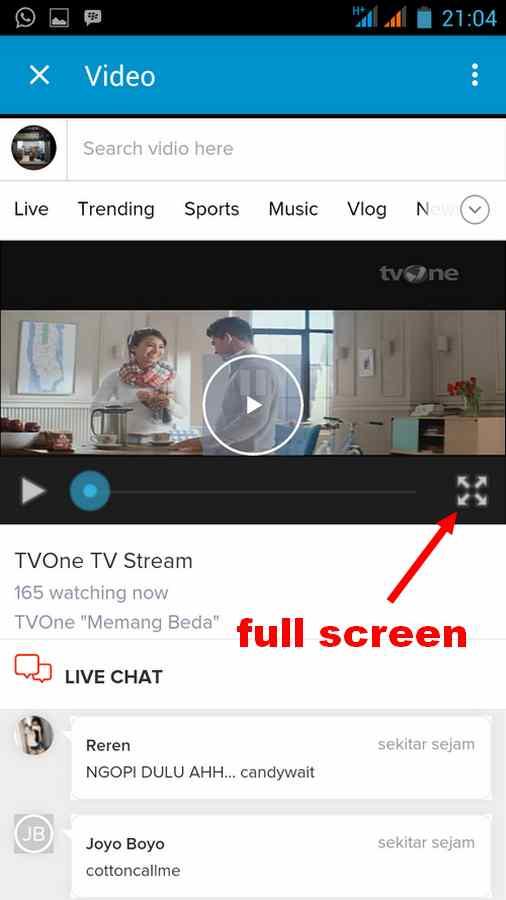 Cara Lihat TV online via BBM, Gambar jernih kualitas bagus ...