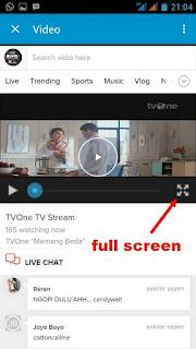 live tv BBM