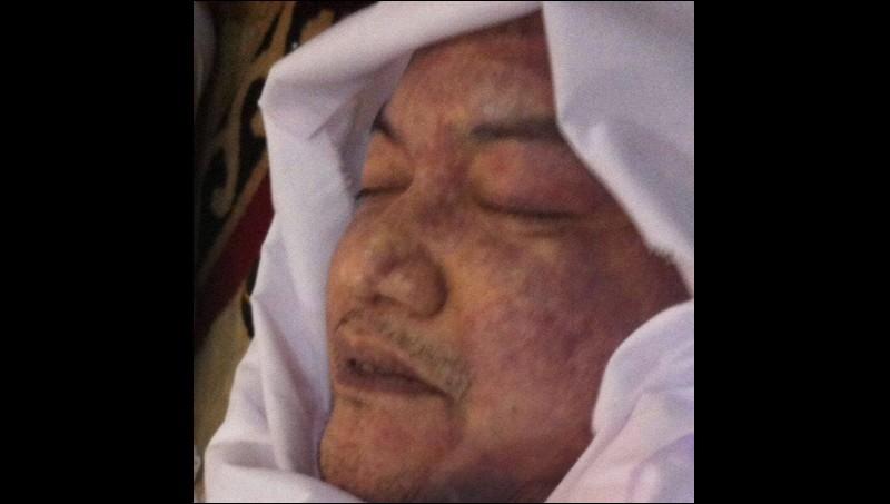 Penampakan yang disebut wajah terakhir almarhum Husni Kamil Malik