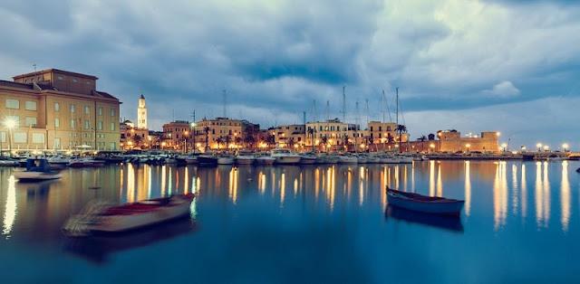 Vista da cidade de Bari