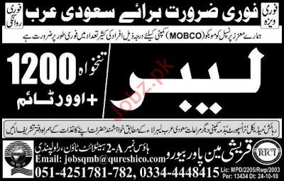 MOBCO Company Job 2019 For Saudi Arabia
