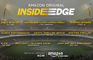 Amazon India's first Original series – Inside Edge breaks all records to be the most watched title on Prime Video in India