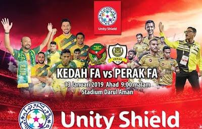 Live Streaming Kedah vs Perak Friendly Match 13.1.2019