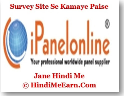 IPanel Survey Site : Easy Way To Make Money From Home