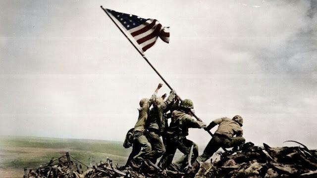 foto tentara amerika tahun 1945