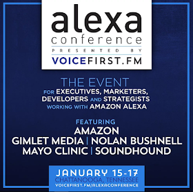 The Alexa Conference, Jan. 15-17, 2019, Looks at How Voice Technology Impacts Every Industry, Company and Person