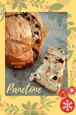 Receitas de Natal: Torta de panetone e frutas