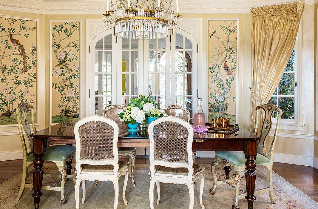 One Kings Lane Chairs Poppy High Chair Cover Malaysia Chinoiserie Chic: The Dining Room