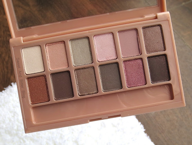 Maybelline The Blushed Nudes Eyeshadow Review India