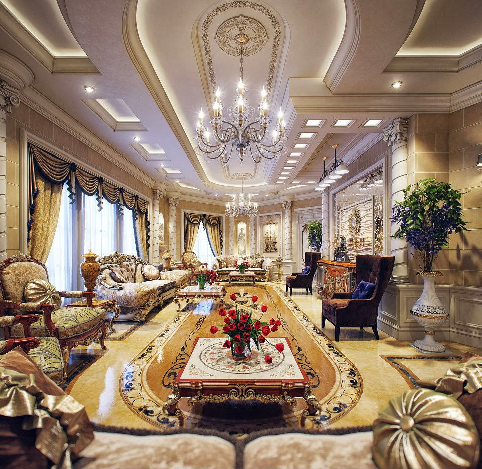 Qatar Luxury Homes: Luxury Life Design: Luxury Villa In Qatar Made Out Of The