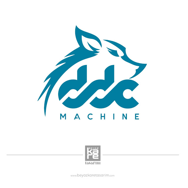 DDC Machine Logo Tasarımı makine metal