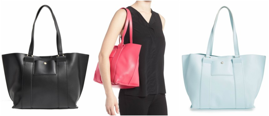 Emperia Faux Leather Tote for only $10 (reg $30)