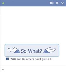 So What facebook emoticon