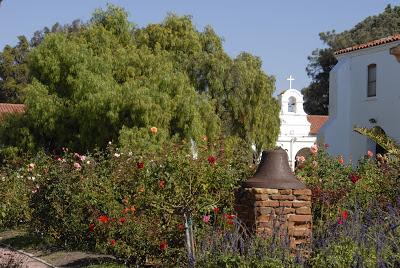 san luis rey mission rose garden: LadyD Books