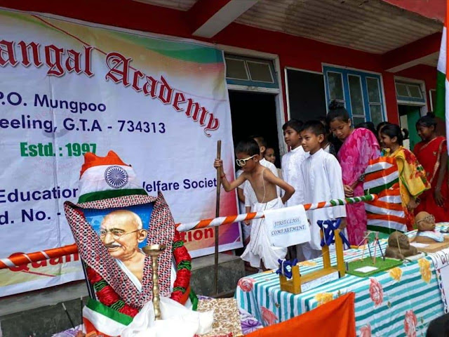 Gandhi Jayanti celebrated at St Mangal Academy