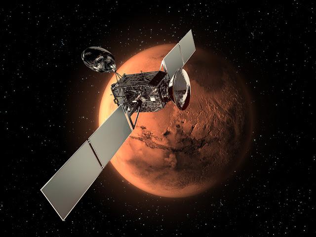 ExoMars missao busca por vida em Marte - orbitador
