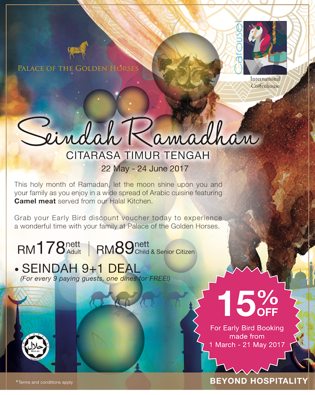"""Seindah Ramadan"" By Palace Of The Golden Horses"
