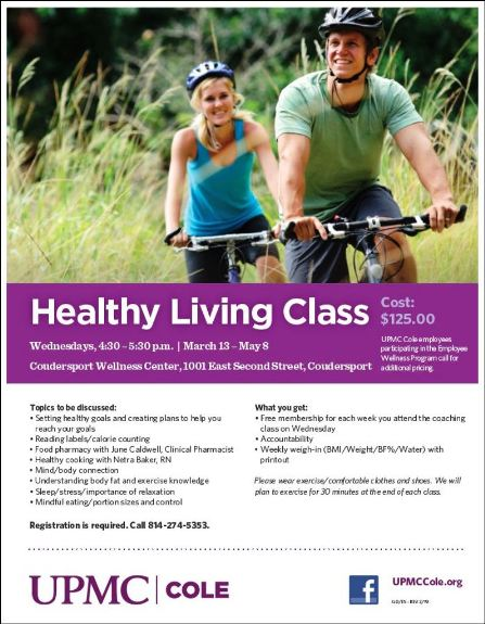 Healthy Living Class