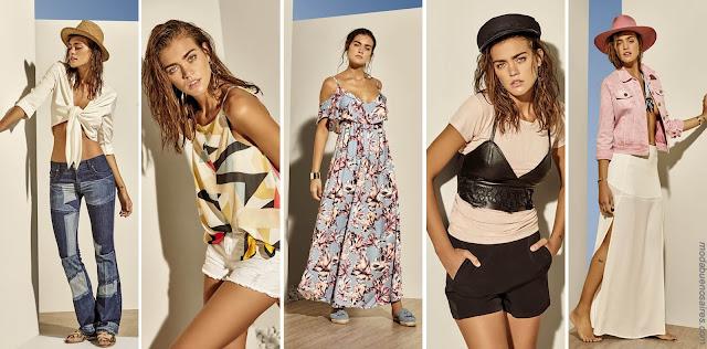 Moda primavera verano 2018: looks de estilo casual urbano y femenino en lo nuevo de Ossira. | Moda primavera verano 2018 | Moda 2018.