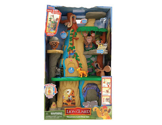 Just Play Lion Guard Training Lair Playset, Disney Lion Guard Figures, Lion Guard toy set
