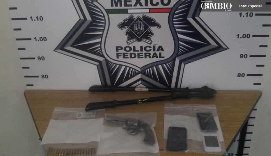 Federales detienen a sujetos armados en la Cuacnopalan- Oaxaca