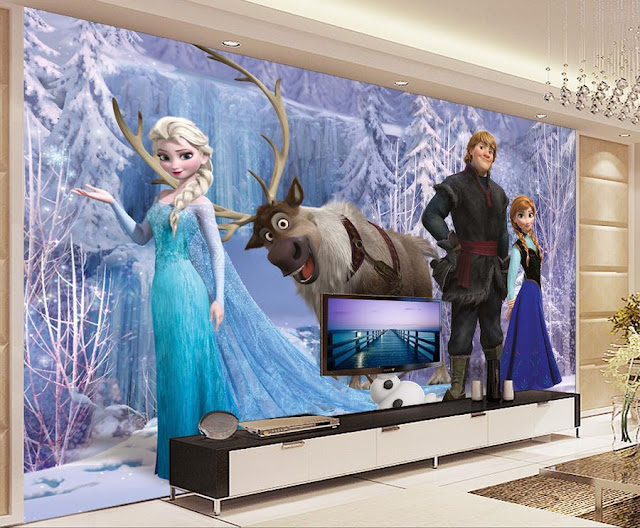 Disney Frozen Wall Mural