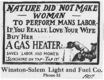 Buy your wife a gas heater
