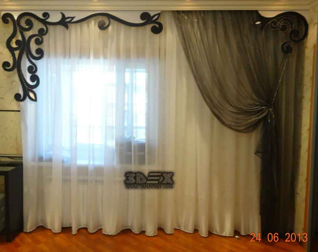 Best curtain designs for bedrooms, curtains ideas and colors 2018