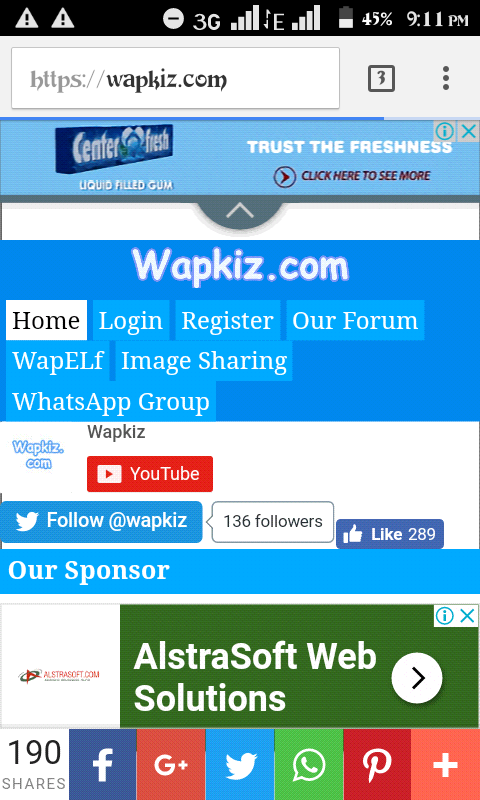 how to create a wapkiz site in 5 minutes ( for free) - Lobbyfactory
