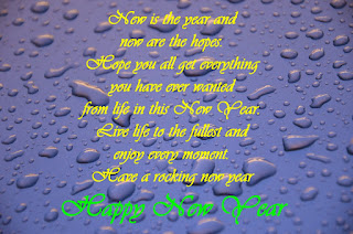 Poem of New Year Wishes