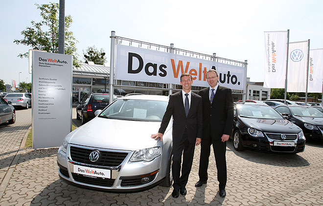 Volkswagen Enters Into Used Car Business Das Weltauto In India