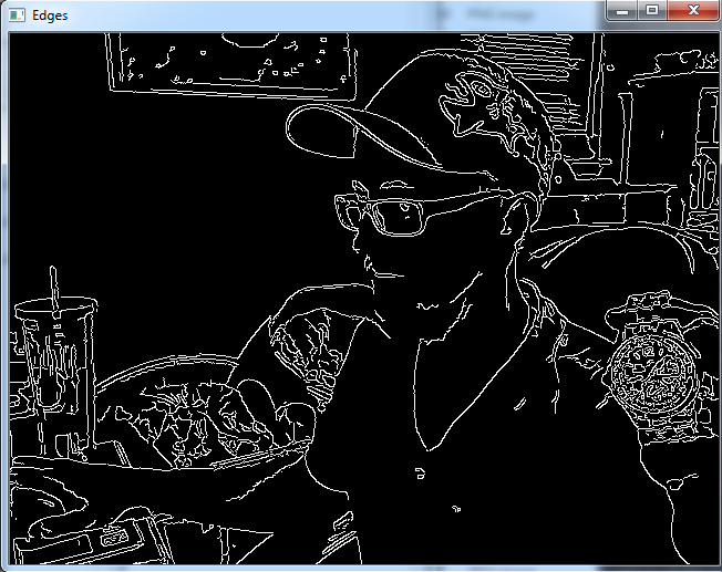 Canny Edge Detection and Gradients OpenCV Python Tutorial   Codeing