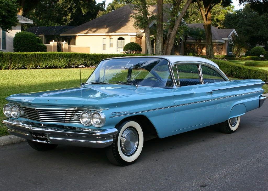 all american classic cars 1960 pontiac catalina 2 door sport sedan. Black Bedroom Furniture Sets. Home Design Ideas