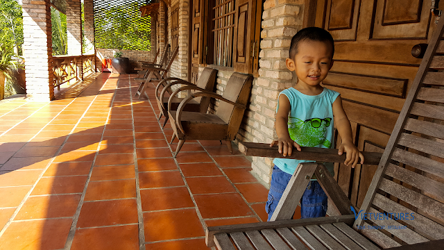 Experience homestay at mekong delta with little children