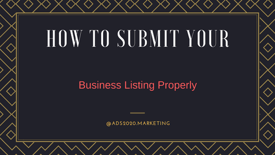 How to Submit your business listing properly-560x315