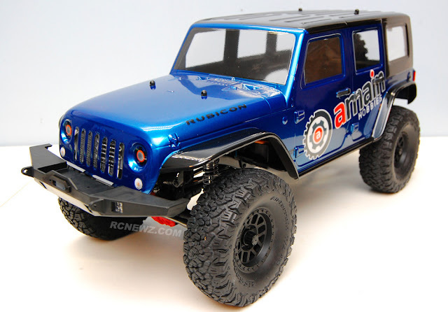 Axial SCX10 II Jeep Wrangler Body