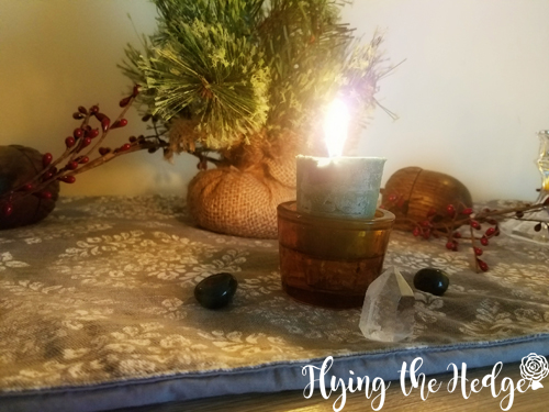 Yule Altar 2017
