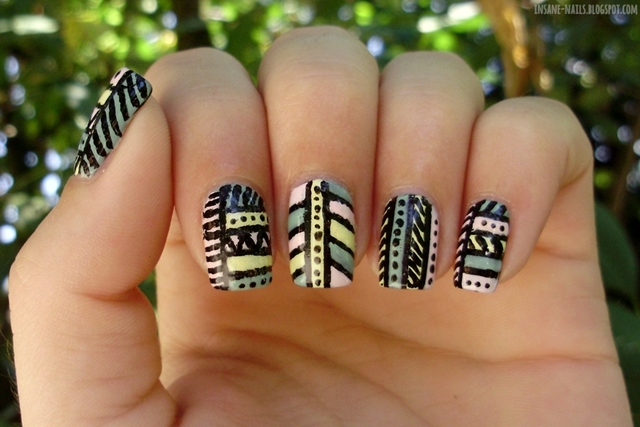 http://insane-nails.blogspot.com/2013/08/10-days-summer-challenge-day-6-tribal.html