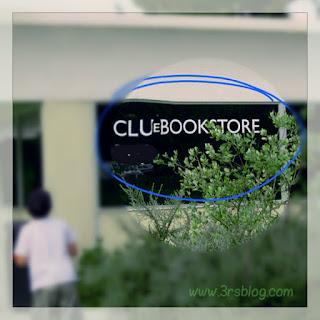CLU(e) Bookstore window (www.3rsblog.com)