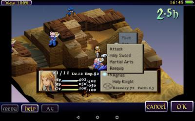 Final Fantasy Tactics: The War of the Lions Screenshot