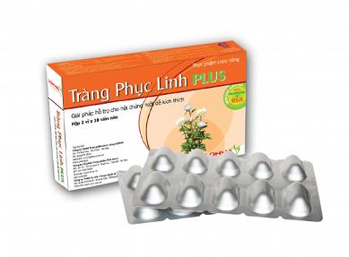 Tràng phục linh Plus dành cho người bệnh đại tràng, hội chứng ruột kích thích