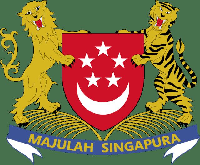 Lambang negara Singapore