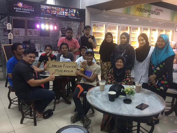 Pejuang Kanser Jelajah Borneo Dengan RM1