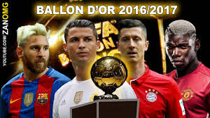 2017 ballon d'or award