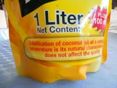 minola brand of coconut oil