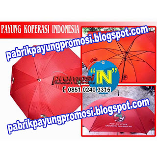 Payung Golf Koperasi Indonesia