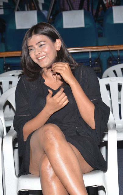 hebah patel hot stills angel teaser launch